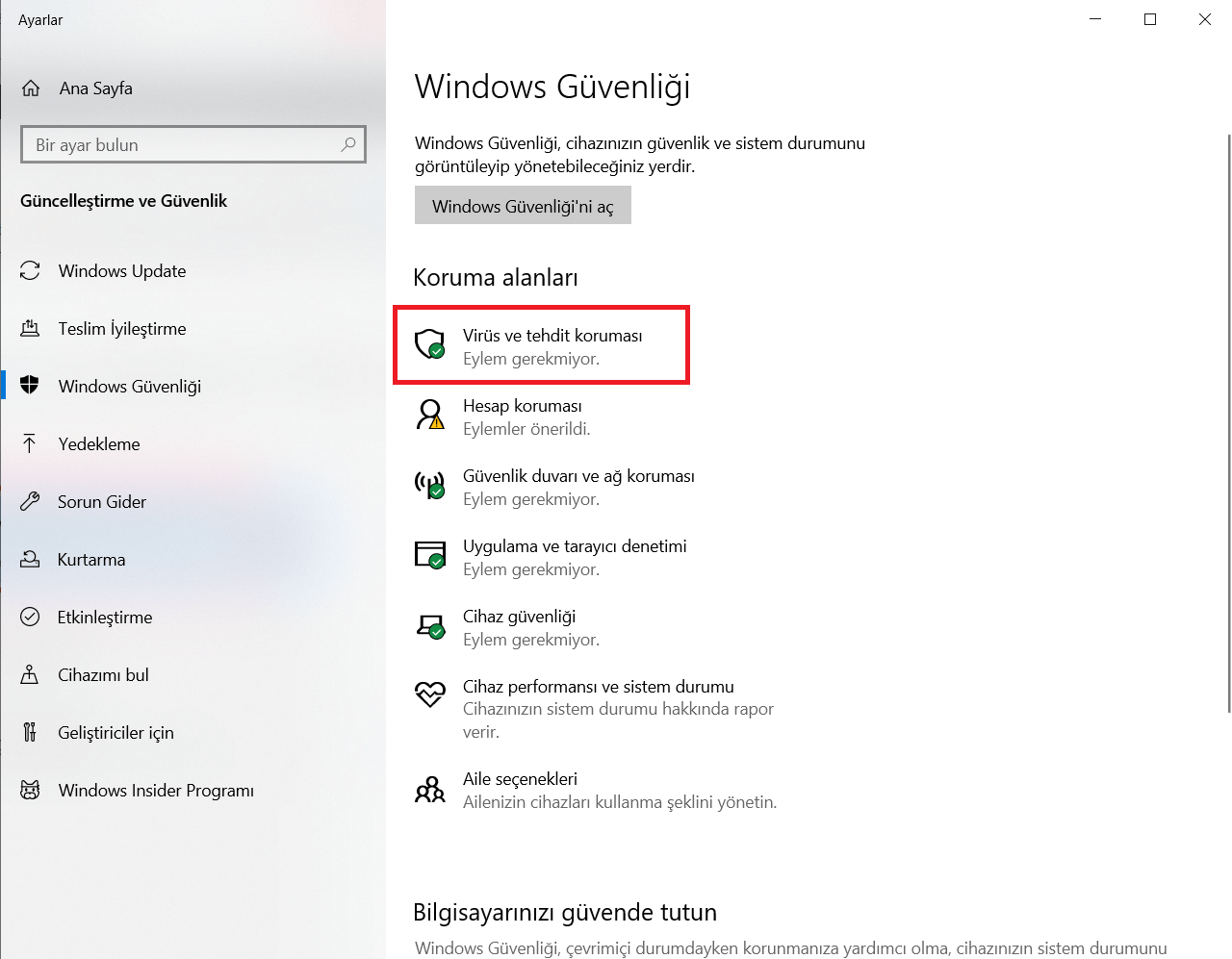windows-virus-korumasi