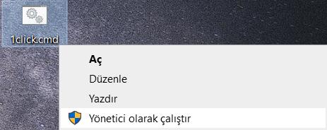 yonetici-calistir