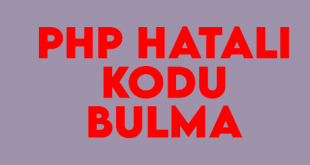 php-hatali-kodu-bulma